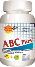 Natural Wealth, ABC plus, 100 tablet