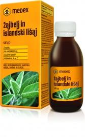 Medex, sirup žajbelj in islandski čaj, 150 ml