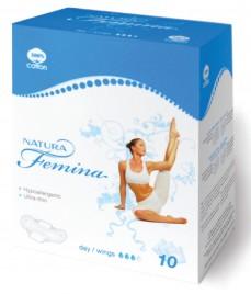 Higienski vložki Natura Femina day/wings, 10 kos