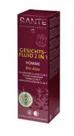 Fluid za obraz 2v1 za moške Sante, 50 ml
