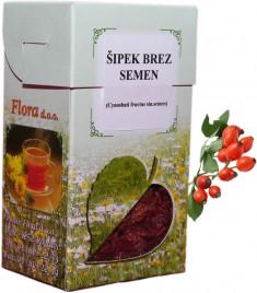 Čaj Šipek plod brez semen, 100 g