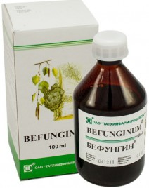 Befungin®, vodni ekstrakt sibirske čage, 100 ml