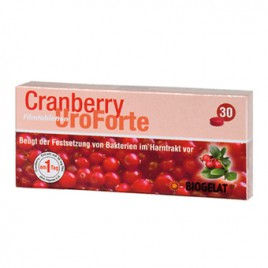 Kwizda, Biogelat Cranberry UroForte, 30 tablet