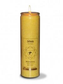 Čakra manipura ali popkovna čakra sveča