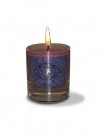 Čakra ajna ali čelna čakra sveča - manjša
