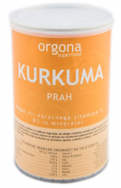 Bio kurkuma prah Orgona SuperFood, 150 g
