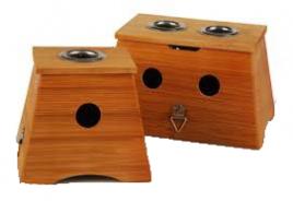 Moksa lesena škatla enojna