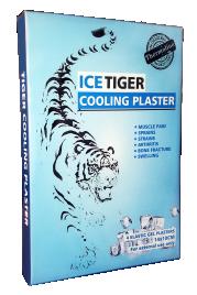 Hladilni obliži Tiger Ice, 4 kom