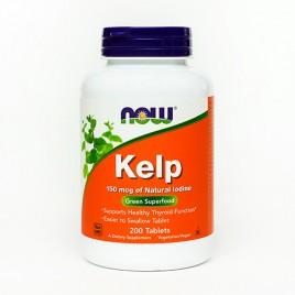 Now, kelp - jod, 200 tablet