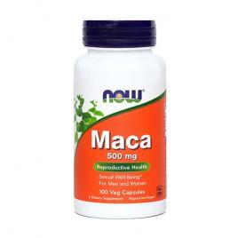 Now, maca, 500 mg, 100 kapsul
