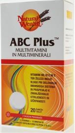 Natural Wealth, ABC plus, 20 šumečih tablet
