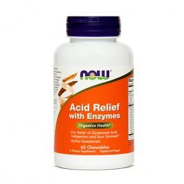 Now, prebavni encimi, 60 žvečljivih tablet