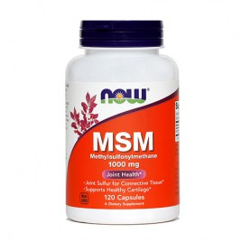 Now, MSM v kapsulah, 1000 mg, 120 kapsul