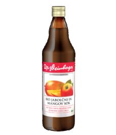 Bio jabolčni in mangov sok Dr. Steinberger, 750 ml