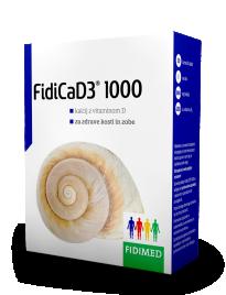 Fidimed, FidiCaD3 1000, 30 šumečih tablet