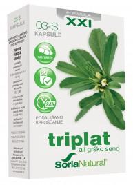 Soria Natural, triplat XXI kapsule s podaljšanim sproščanjem, 30 kapsul