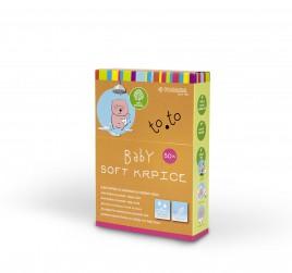 Krpice za umivanje Soft TO.TO, 50 kom