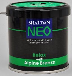 Shaldan Neo alpska svežina osvežilec zraka za avto, dom in pisarno, 80 g
