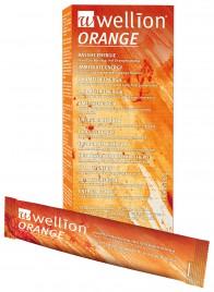 Wellion Orange invertni sladkorni sirup z okusom pomaranče, 130 g