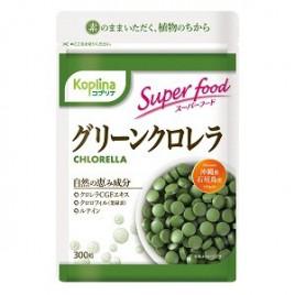 Koplina, klorela zelena alga, 300 tablet