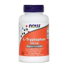 Now, L - Triptofan, 500 mg, 60 kapsul