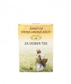 Čajna mešanica ZA DOBER TEK patra Simona Ašiča (08), 50 g