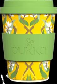 Bamboo melamin skodelica, motiv Kurkuma Pukka, 340 ml