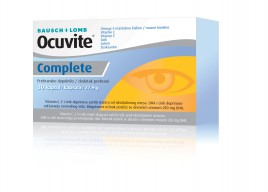 Bausch + Lomb, ocuvite complete, 30 kapsul