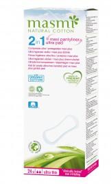 2 v 1 Ultra higienski vložki/maxi plus ščitniki MASMI, 24 kom