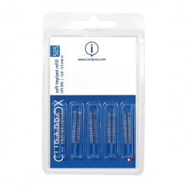 Curaprox medzobna ščetka CPS 505 soft implant, 5 kom