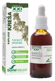 Soria Natura, kreša XXI kapljice brez alkohola, 50 ml