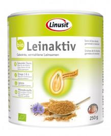 Bio Leinaktiv zlato Laneno seme Linusit, 250 g
