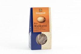Začimba muškatni orešek mleti bio Sonnentor, 30 g