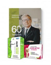 Dr. Boruta Štruklja, AV imuno - Flexi + GRATIS knjiga zdravilne rastline, 60 receptur