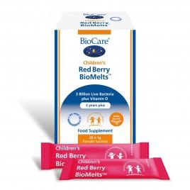 BioCare, prehransko dopolnilo, red berry, 28 vrečk