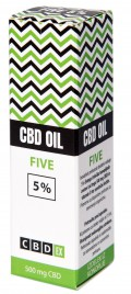 CBDex, olje izvlečka konopljinih cvetov, 10 ml