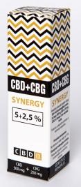 CBDex, CBD + CBG izvleček konopljinih cvetov, 10 ml