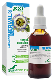 Soria Natural, nerval XXI kompleks kapljice brez alkohola, 50 ml