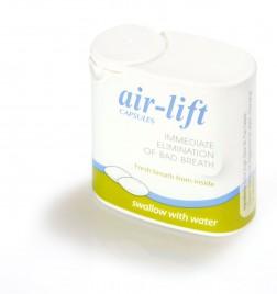 Air Lift, proti slabemu zadahu, 40 kapsul