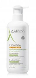 A-Derma exomega Control Emolientni losjon, 400 ml