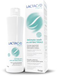 Lactacyd pharma with Antibacterials intimna nega, 250 ml