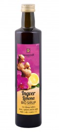 Bio sirup ingver limona Sonnentor, 500 ml