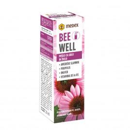 Medex, bee well pršilo za grlo in žrelo ameriški slamnik, 20 ml