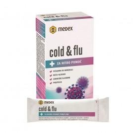 Medex, cold & flu, 10 x 10 g