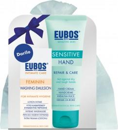 Eubos darilni paket sens. krema za roke 75ml+feminin intimna nega 30ml