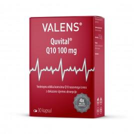 Valens, quvital Q10, 100 mg, 30 kapsul