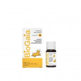 BioGaia, protectis baby probiotične kapljice z vitaminom D3, 5 ml