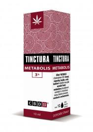CBDex, tinktura metabolis 3 %, 10 ml