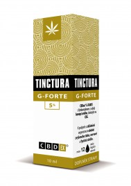 CBDex, tinktura G - forte 5 %, 10 ml