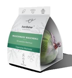 Pralna žogica s pralnimi oreščki  Herbow, 1kos /5 pranj